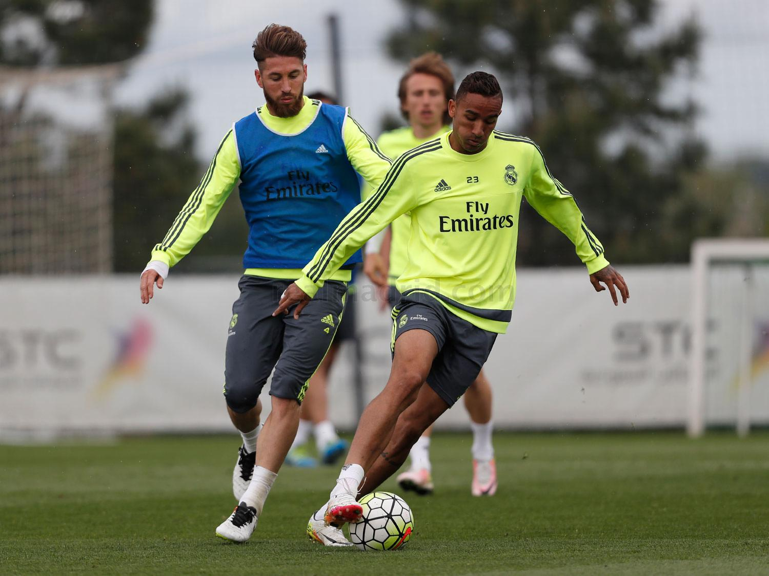 Real Madrid - Entrenamiento del Real Madrid - 13-05-2016