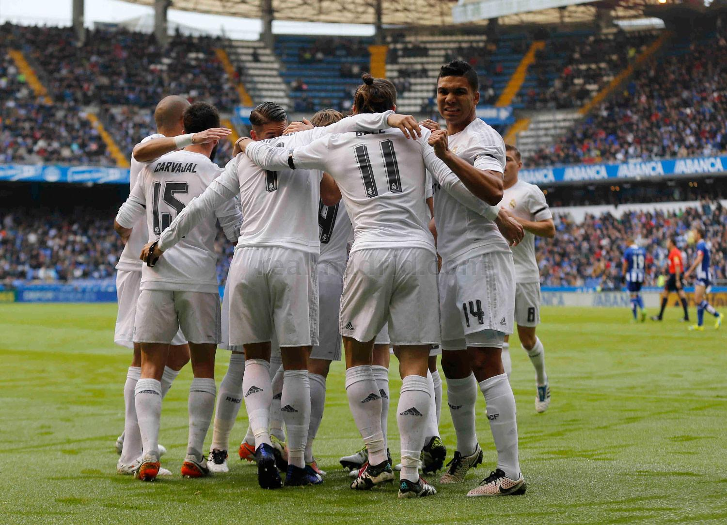 Real Madrid - Deportivo - Real Madrid - 14-05-2016