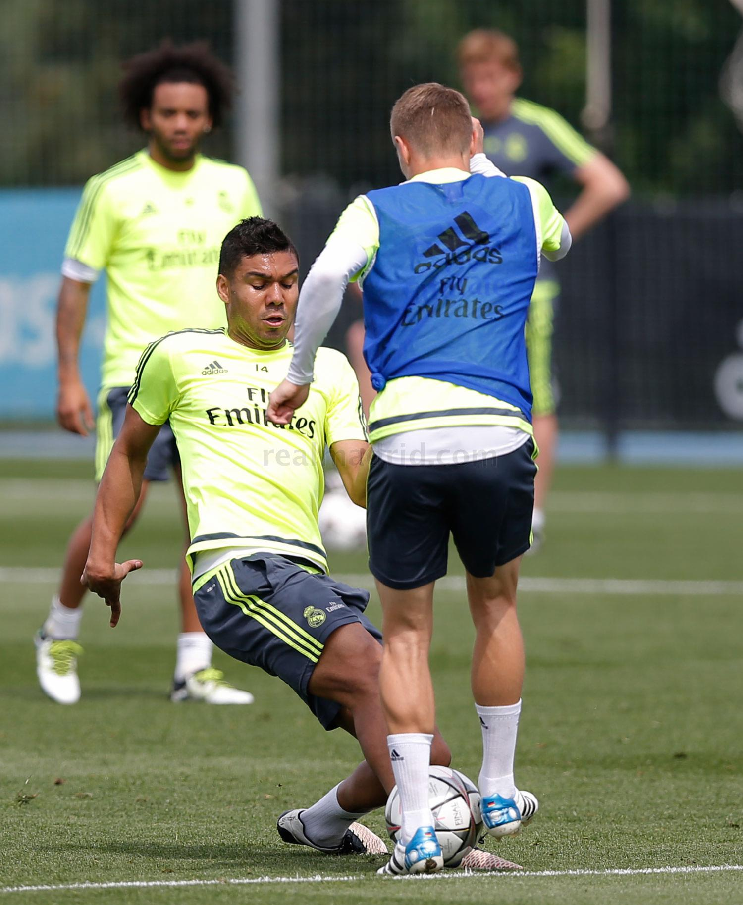 Real Madrid - Entrenamiento del Real Madrid - 17-05-2016