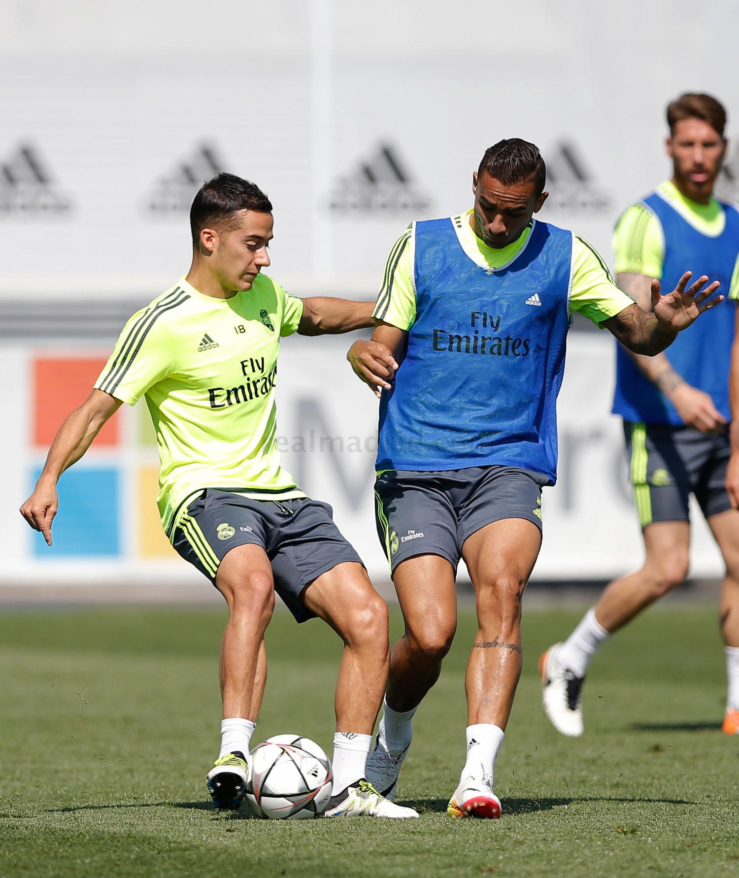 Real Madrid - Entrenamiento del Real Madrid - 18-05-2016