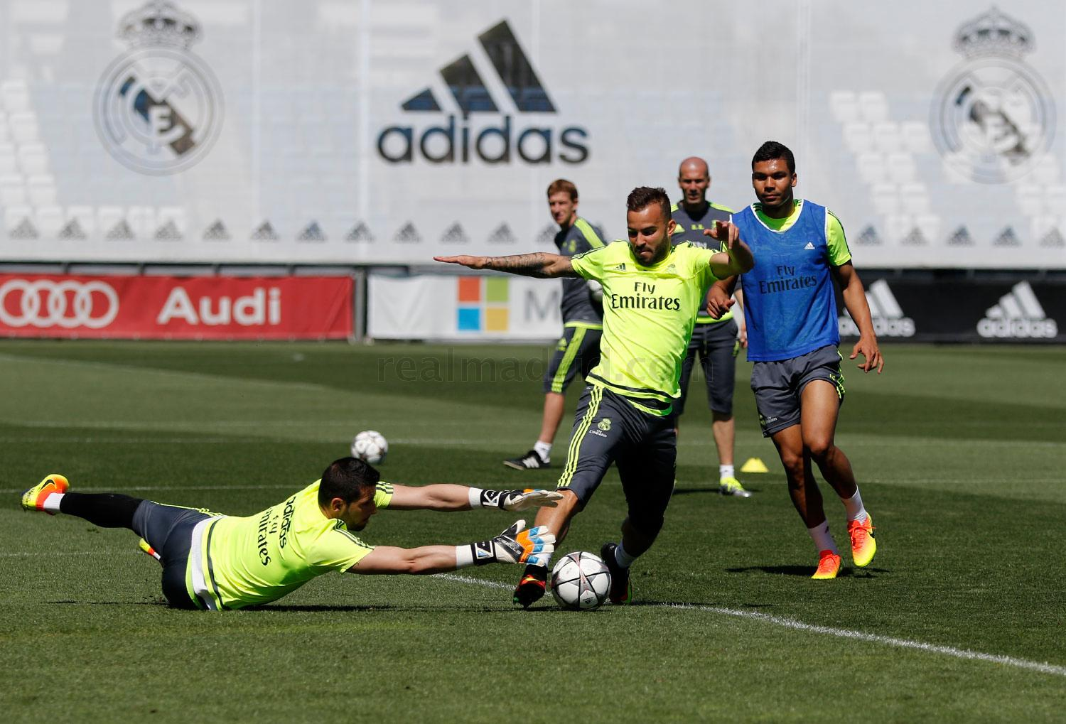 Real Madrid - Entrenamiento del Real Madrid - 20-05-2016