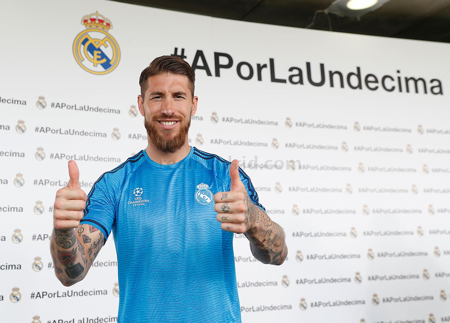 Real Madrid - Open Media Day 2016 - 24-05-2016