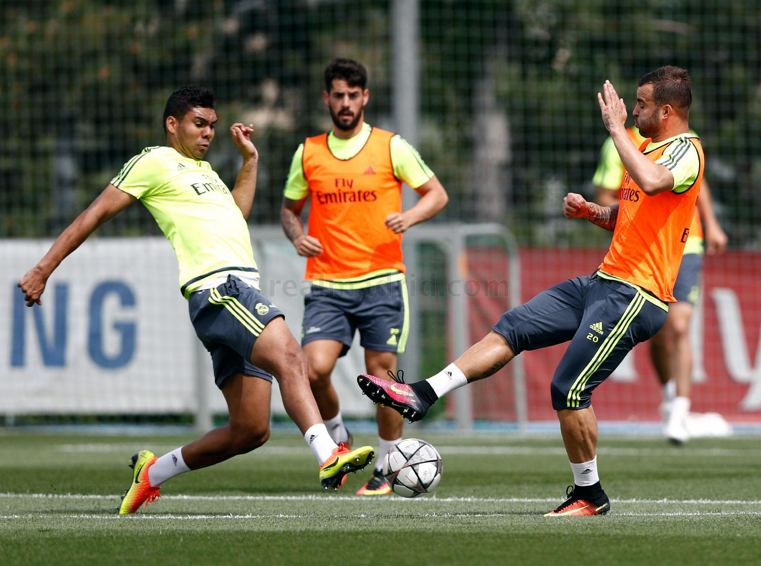 Real Madrid - Entrenamiento del Real Madrid - 26-05-2016