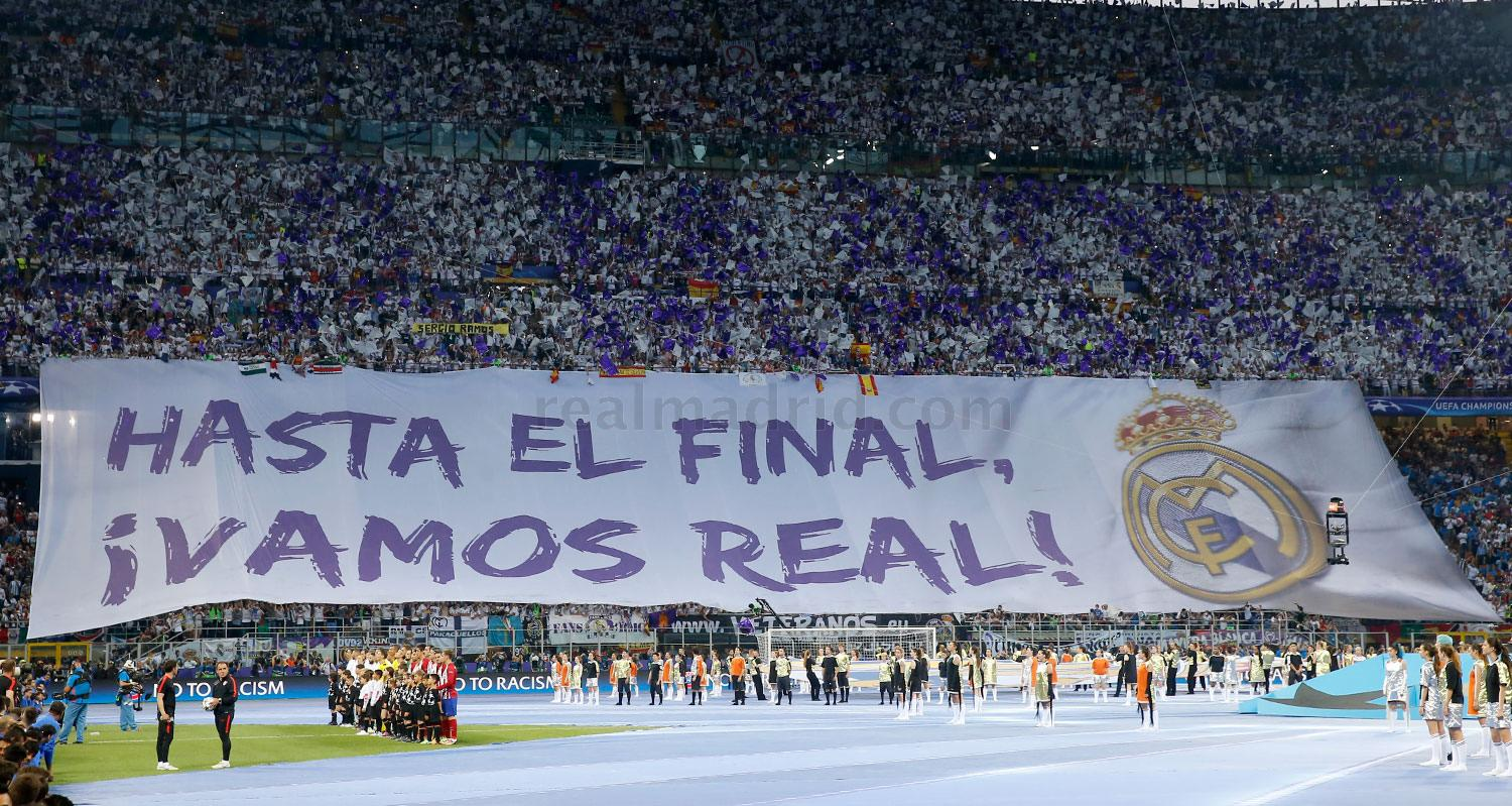 Real Madrid - Real Madrid - Atlético de Madrid - 28-05-2016