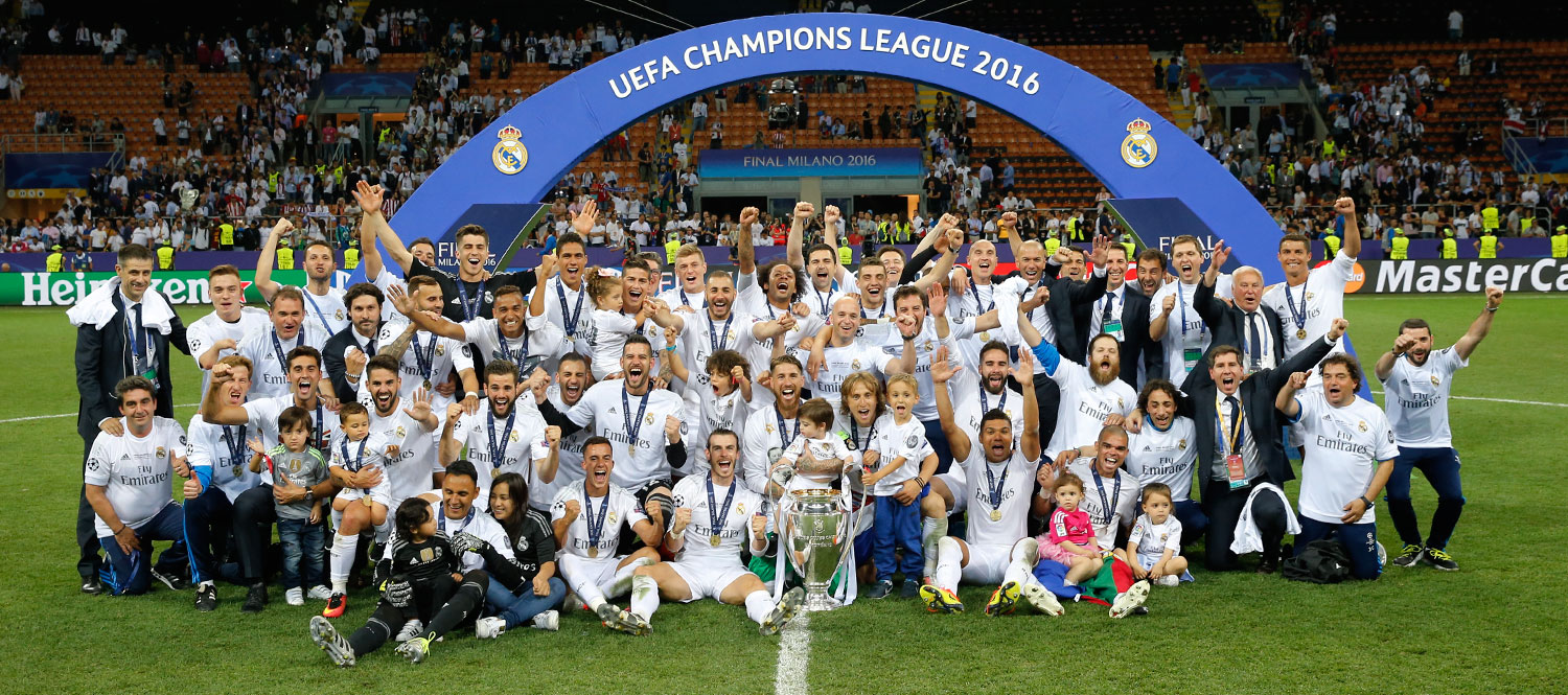 Image result for real madrid 2015/16 champions league