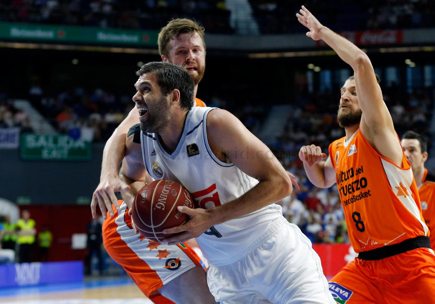Real Madrid - Real Madrid - Valencia Basket - 04-06-2016