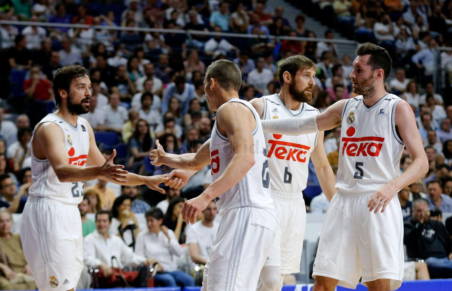 Real Madrid - Real Madrid - Valencia Basket - 05-06-2016