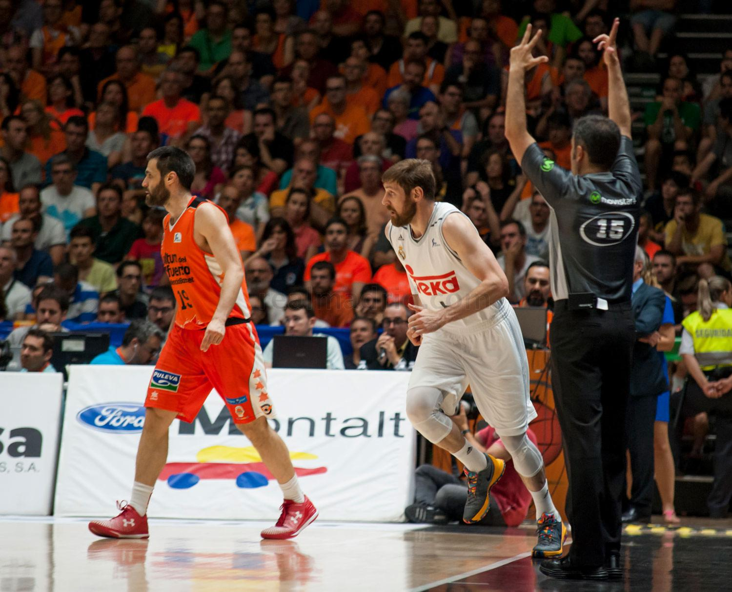 Real Madrid - Valencia Basket - Real Madrid - 10-06-2016