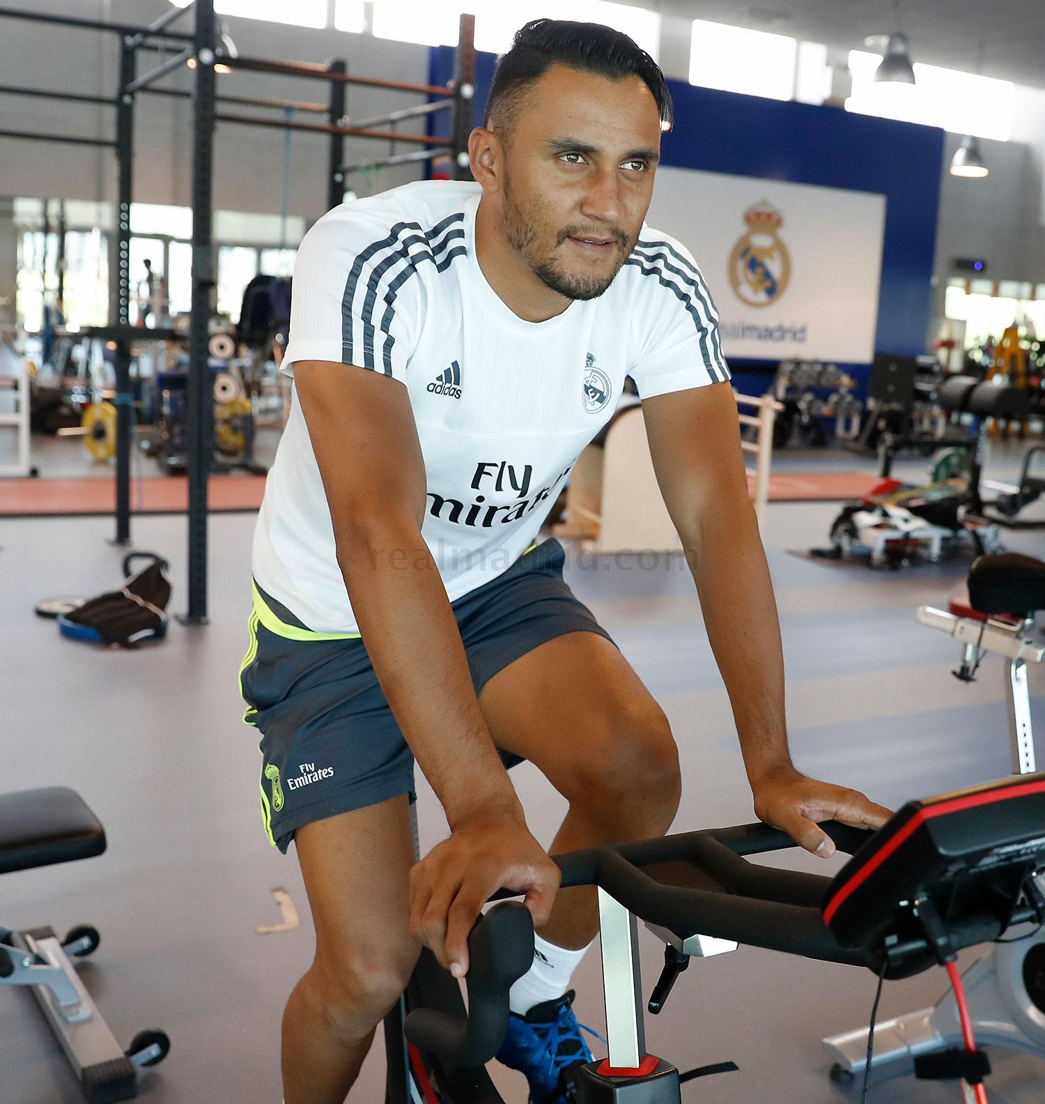Real Madrid - Entrenamiento del Real Madrid - 14-07-2016