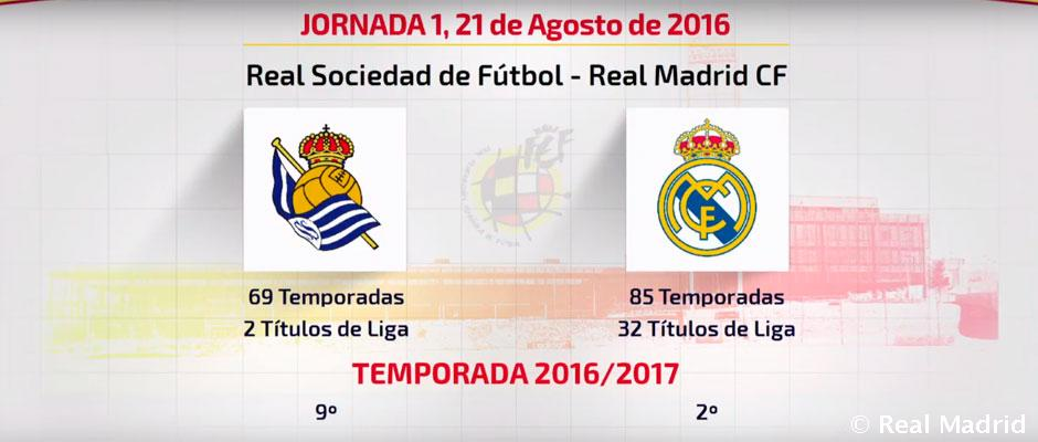 Calendario Real Madrid Liga.Asi Queda El Calendario Del Real Madrid Para La Liga 2016 17 Real