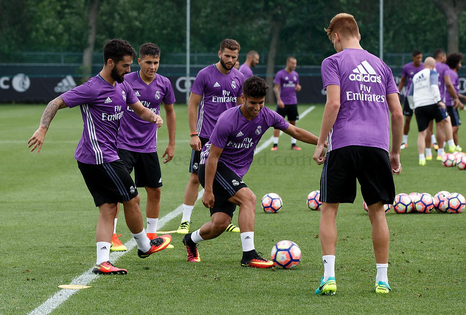 Real Madrid - Entrenamiento del Real Madrid en Montreal - 18-07-2016