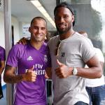 Drogba visits Real Madrid in Montreal