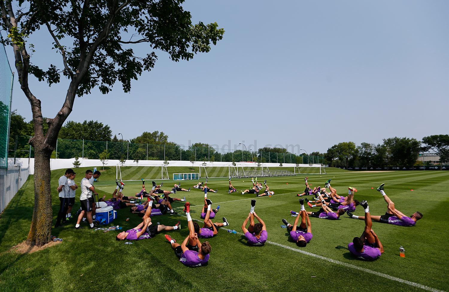 Real Madrid - Entrenamiento del Real Madrid en Montreal - 20-07-2016