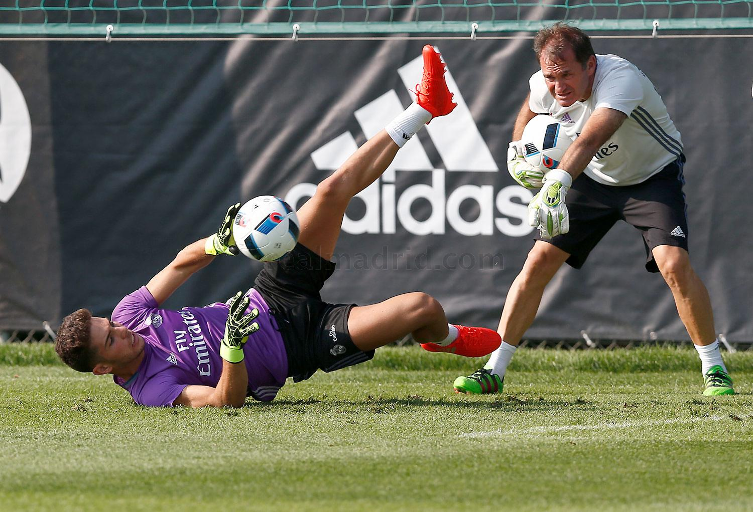 Real Madrid - Entrenamiento del Real Madrid en Montreal - 21-07-2016