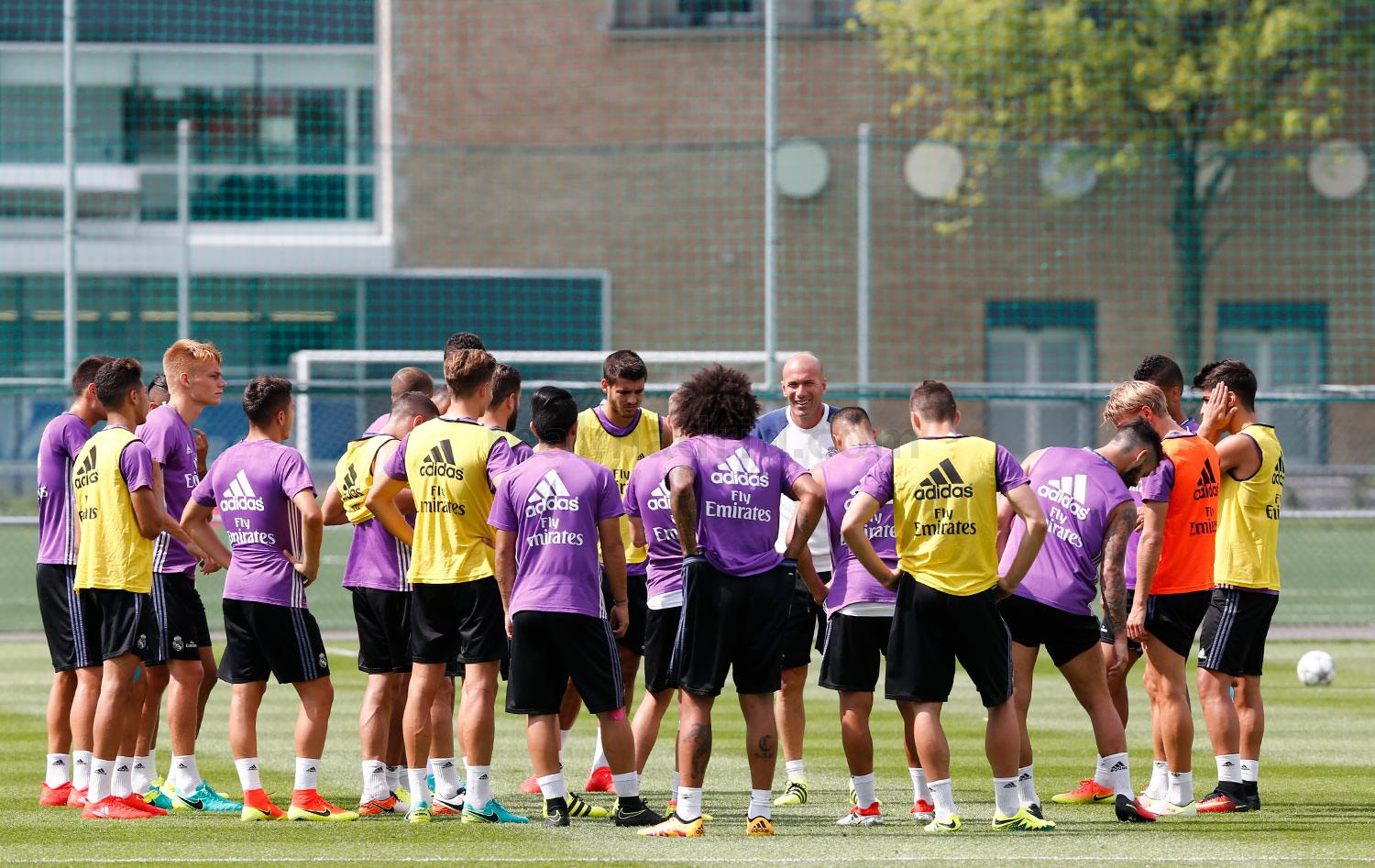 Real Madrid - Entrenamiento del Real Madrid en Montreal - 22-07-2016