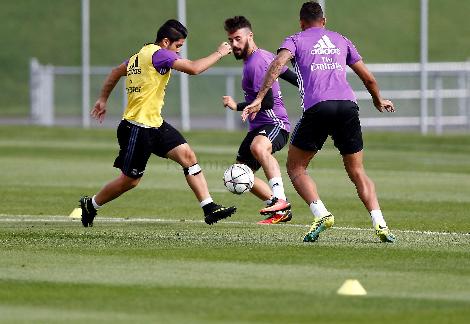 Real Madrid - Entrenamiento del Real Madrid en Montreal - 23-07-2016