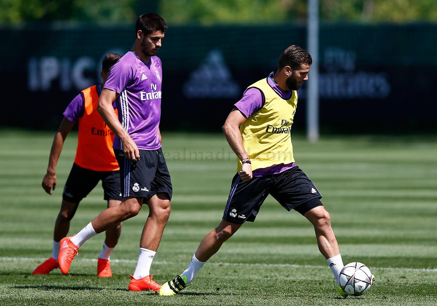 Real Madrid - Entrenamiento del Real Madrid en Montreal - 24-07-2016