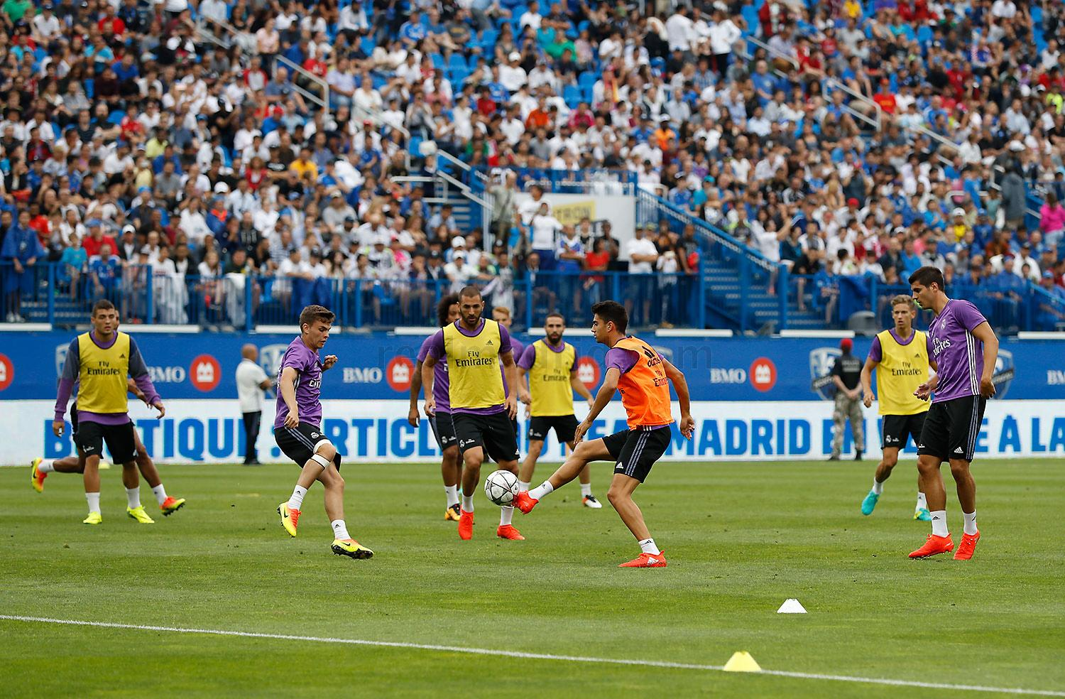 Real Madrid - Entrenamiento del Real Madrid en Montreal - 26-07-2016