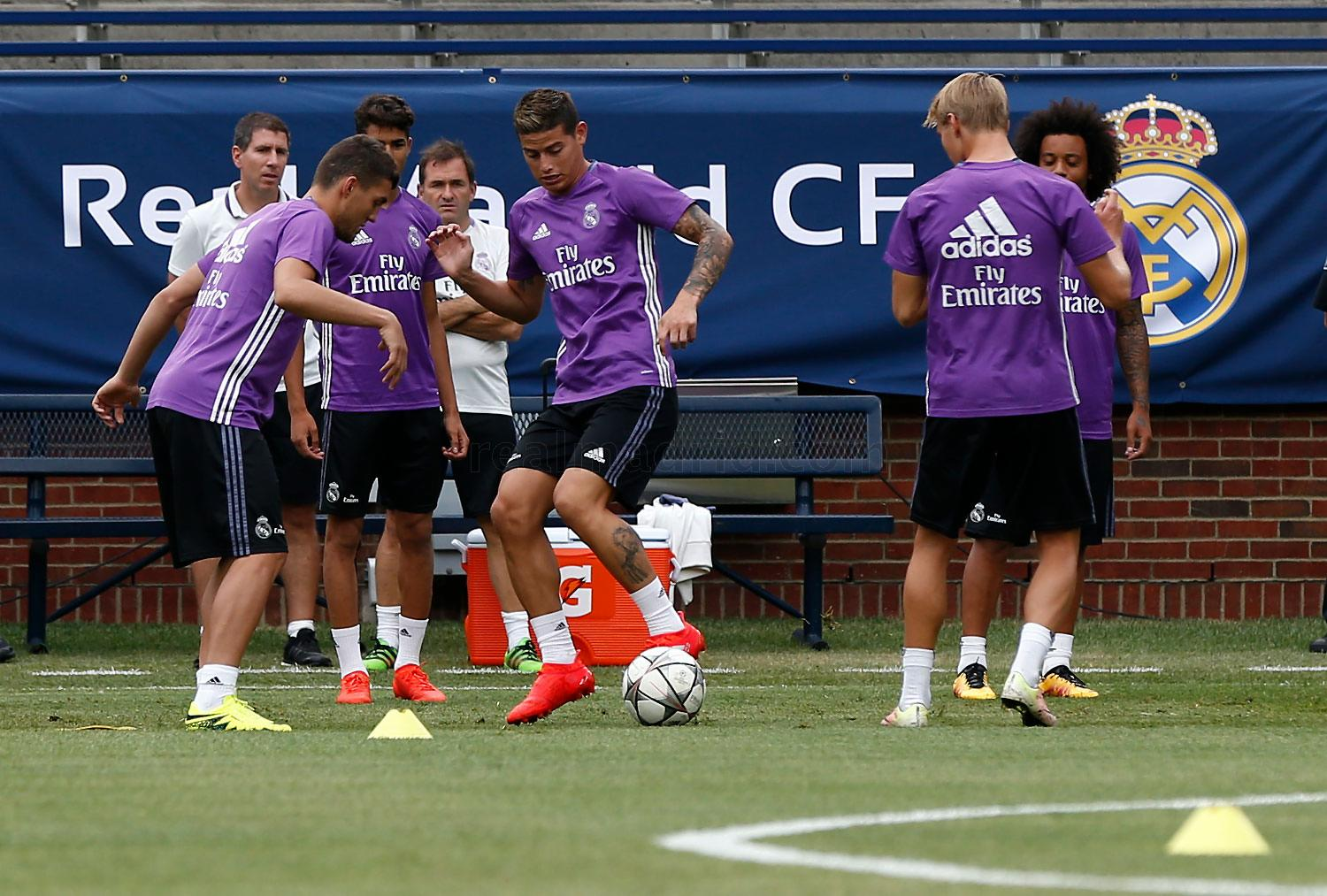 Real Madrid - Entrenamiento del Real Madrid en Míchigan - 30-07-2016