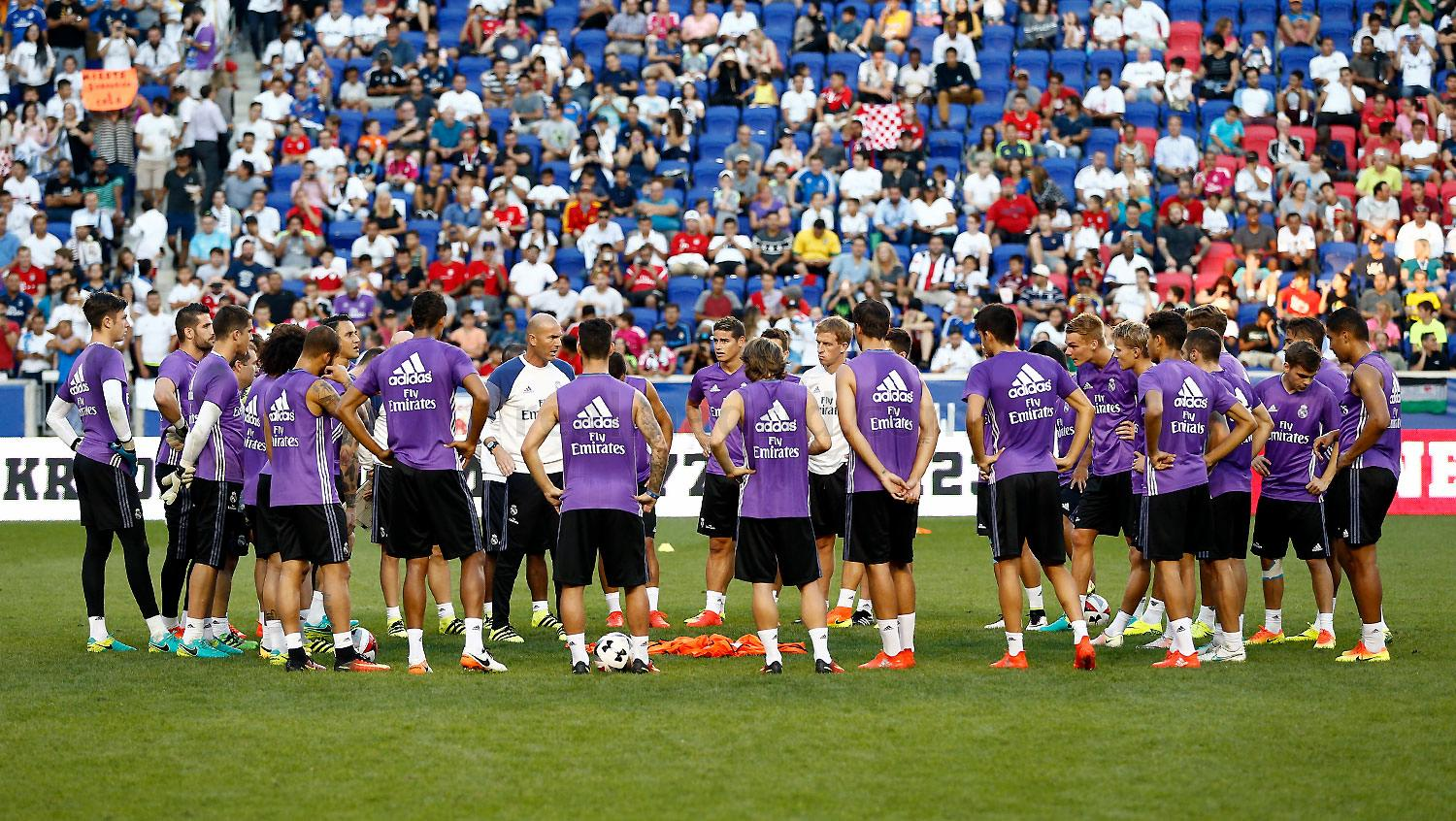 Real Madrid - Entrenamiento del Real Madrid - 03-08-2016