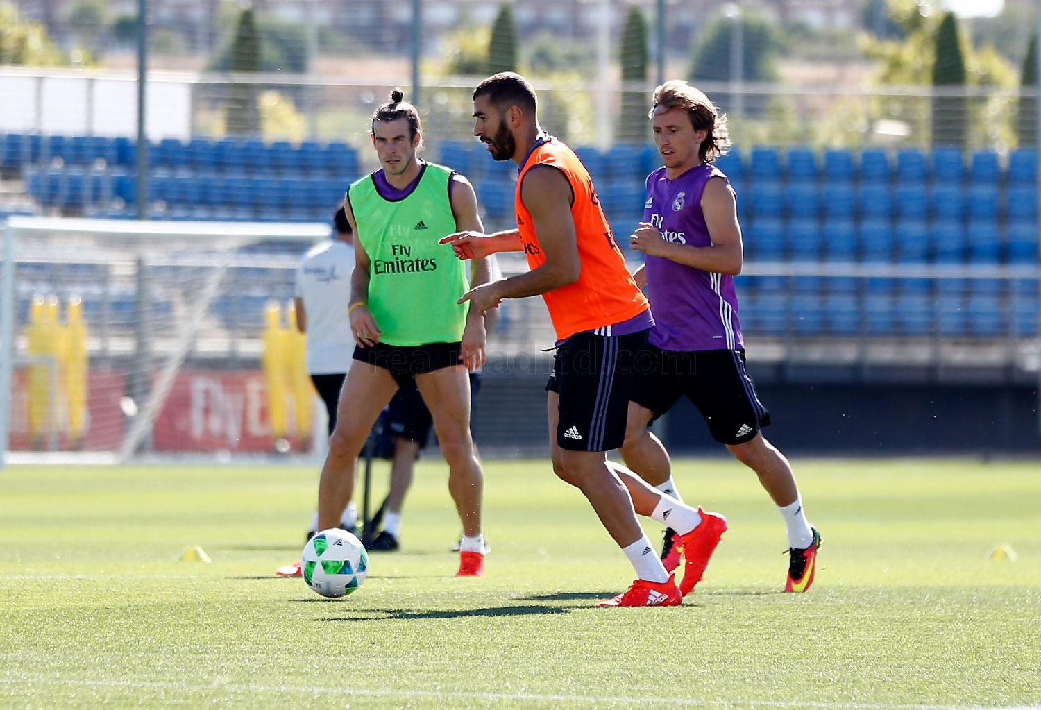 Real Madrid - Entrenamiento del Real Madrid - 06-08-2016