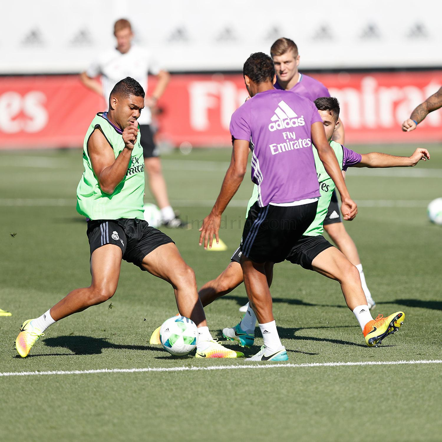 Real Madrid - Entrenamiento del Real Madrid - 07-08-2016