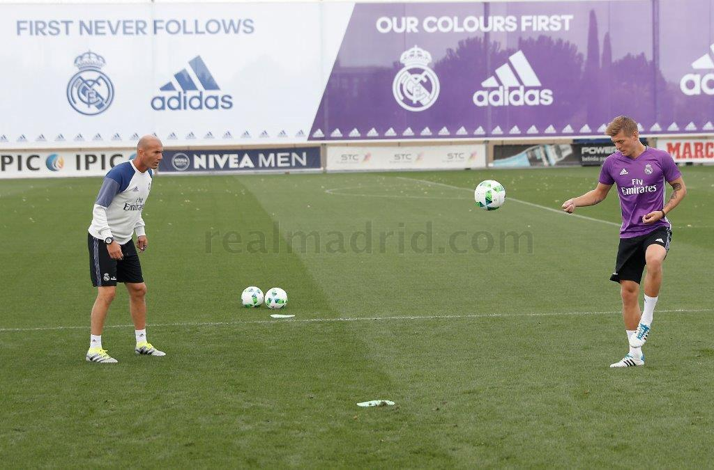 Real Madrid - Entrenamiento del Real Madrid - 10-08-2016