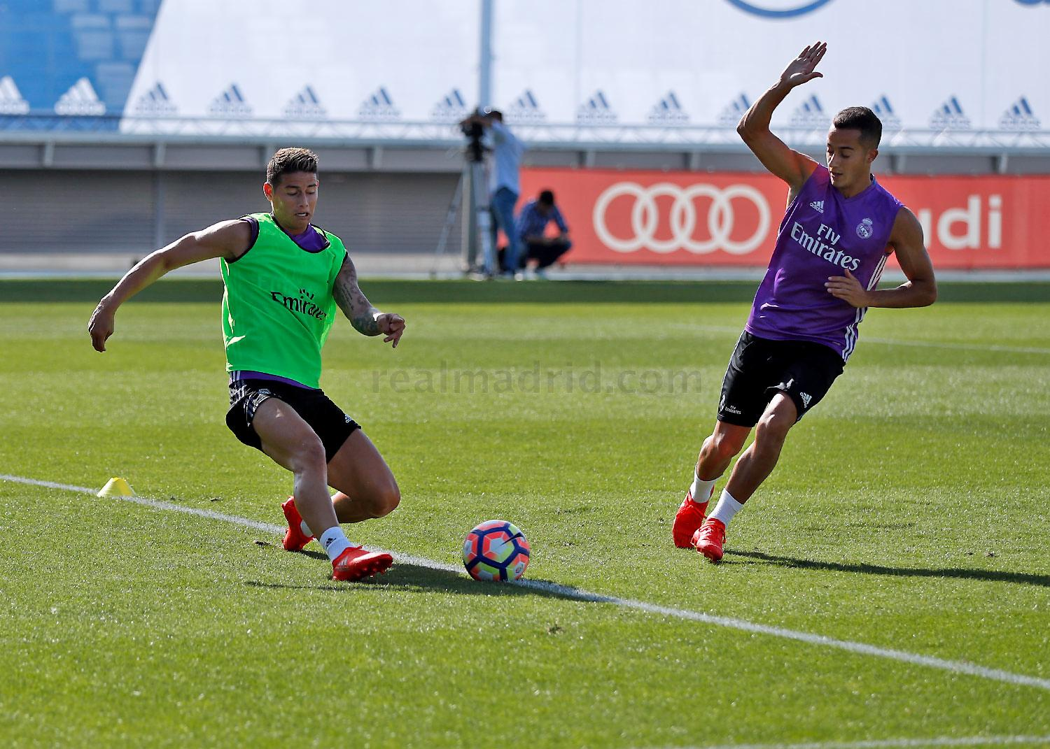 Real Madrid - Entrenamiento del Real Madrid - 11-08-2016