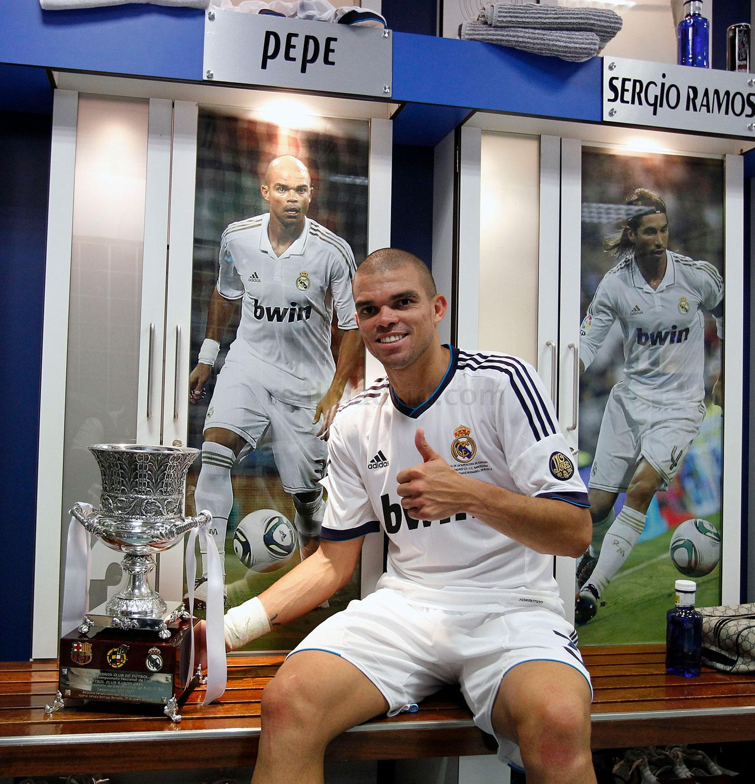 Real Madrid - Pepe inicia su décima temporada en el Real Madrid - 12-08-2016
