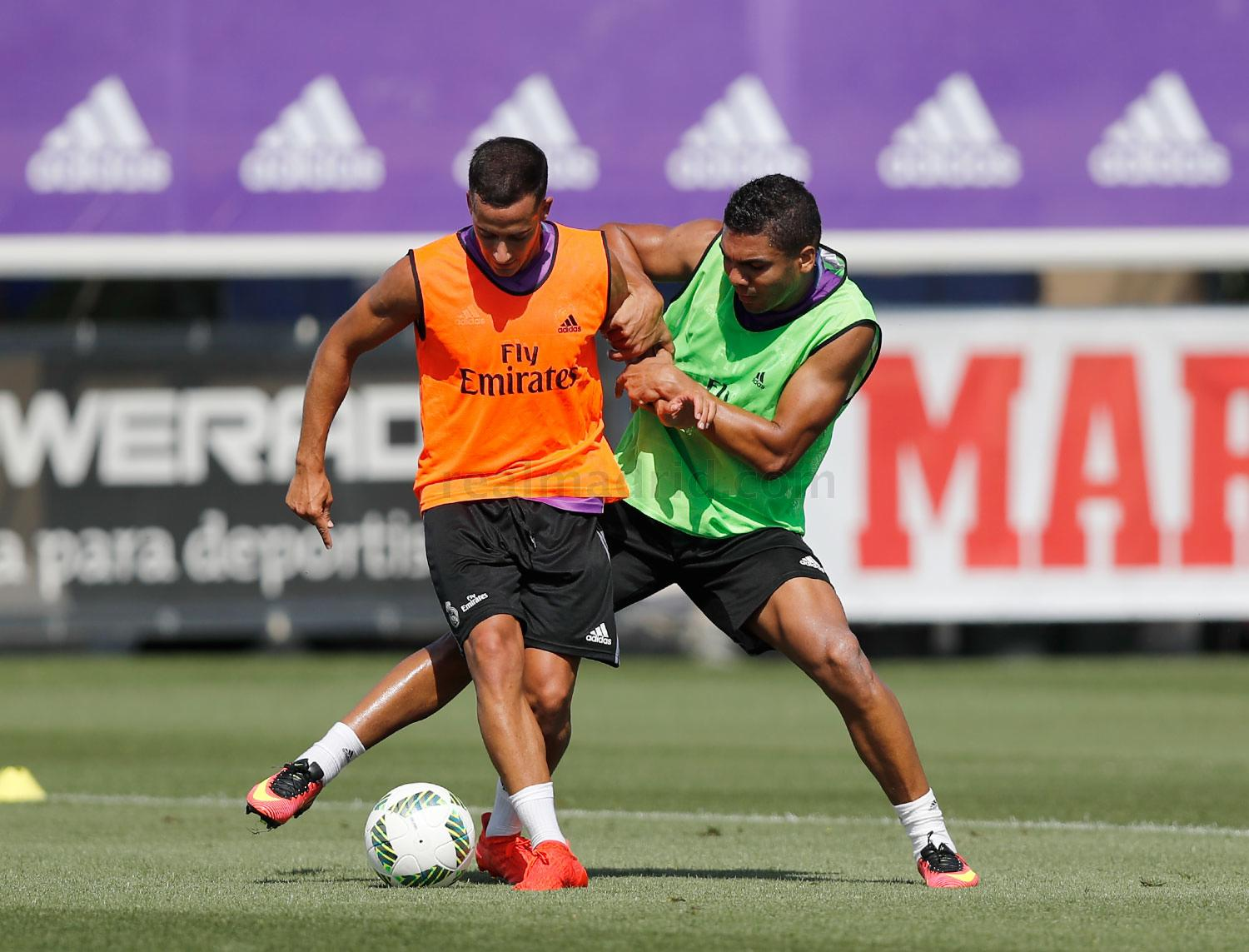 Real Madrid - Entrenamiento del Real Madrid - 15-08-2016