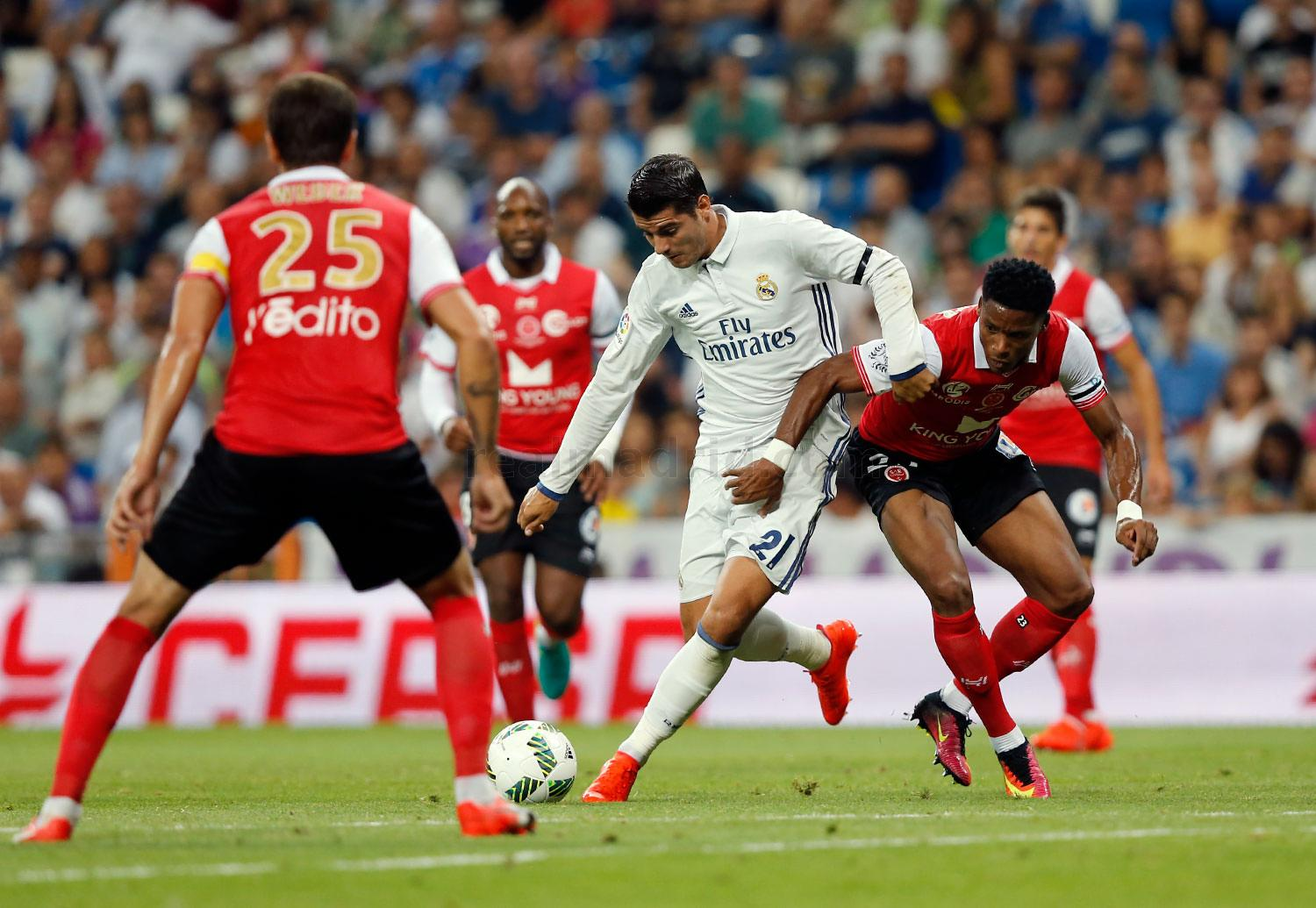 Real Madrid - Real Madrid - Stade de Reims - 16-08-2016