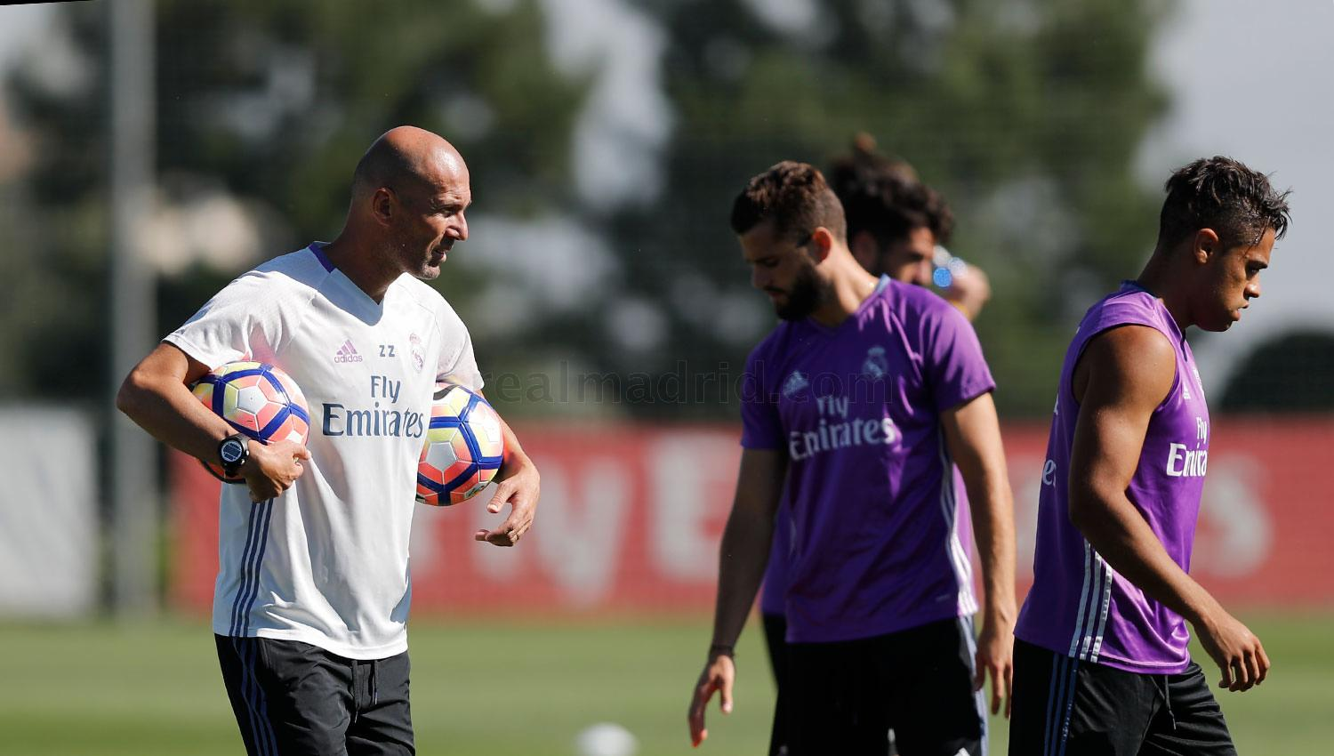 Real Madrid - Entrenamiento del Real Madrid - 18-08-2016