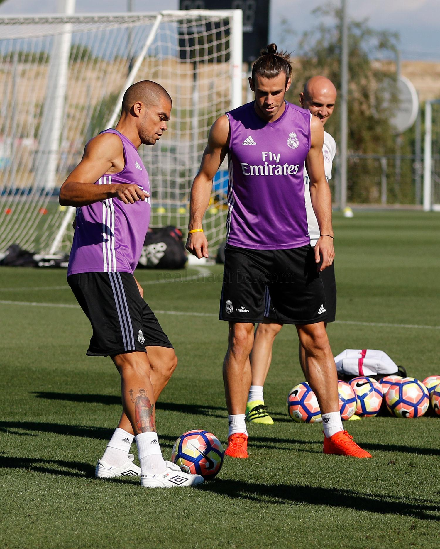 Real Madrid - Entrenamiento del Real Madrid - 20-08-2016