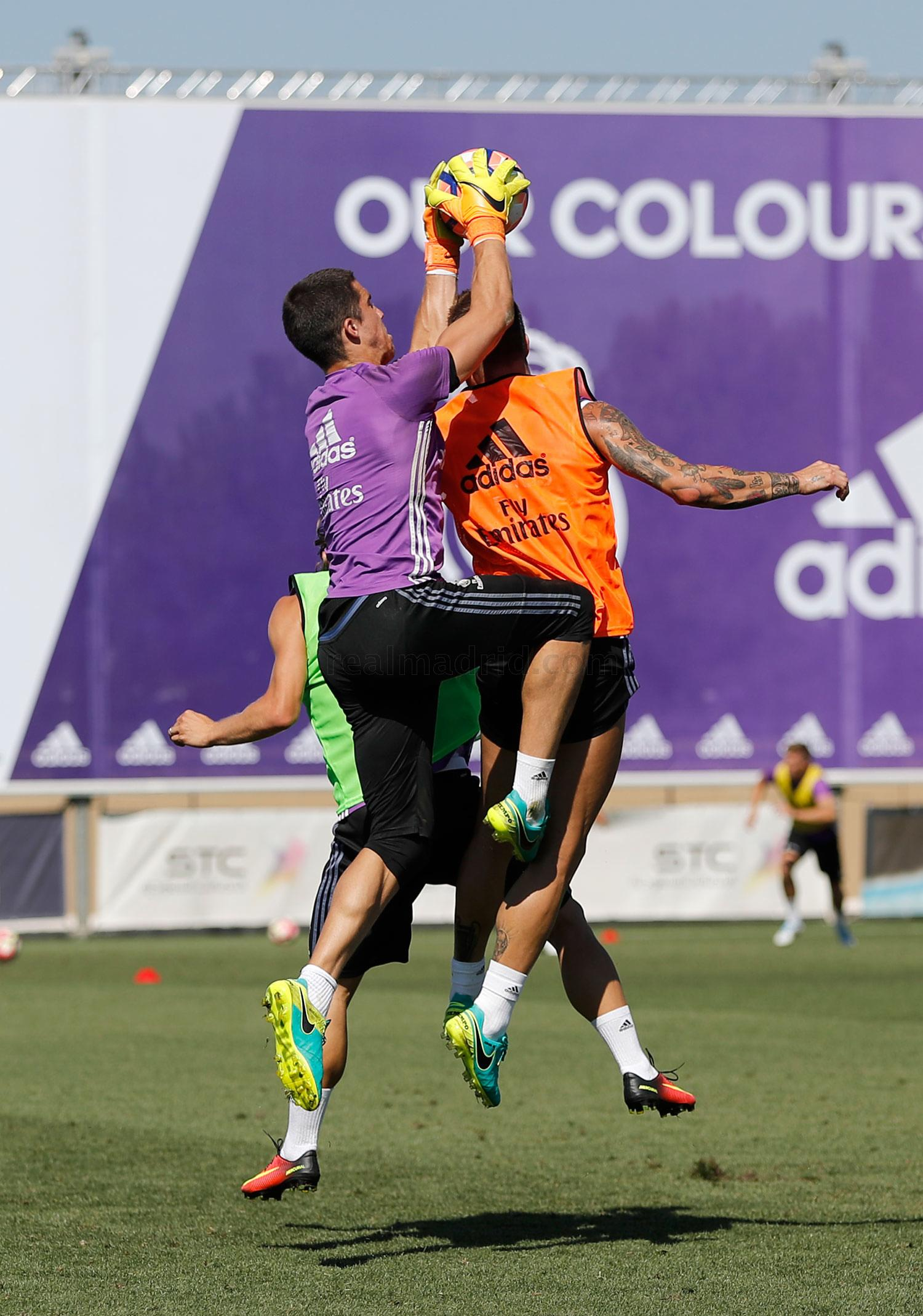 Real Madrid - Entrenamiento del Real Madrid - 24-08-2016