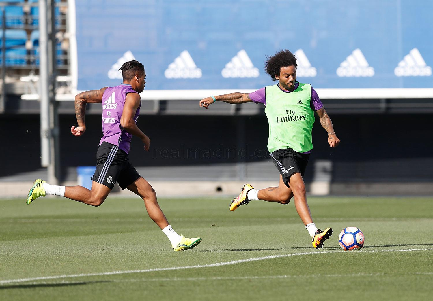 Real Madrid - Entrenamiento del Real Madrid - 25-08-2016