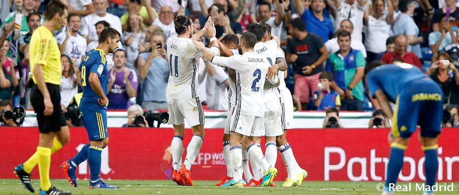 Empat belas kemenangan beruntun di Liga