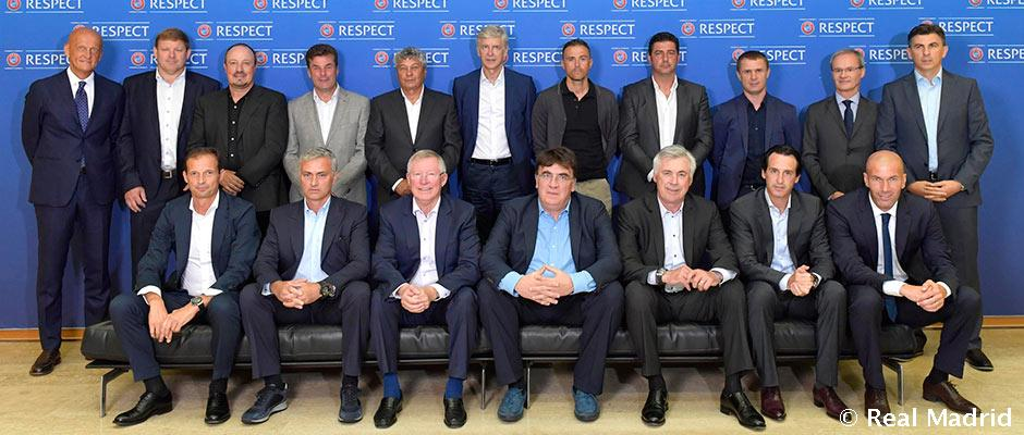 ზინედინ ზიდანი UEFA-ს ელიტარულ მწვრთნელთა ფორუმს დაესწრო