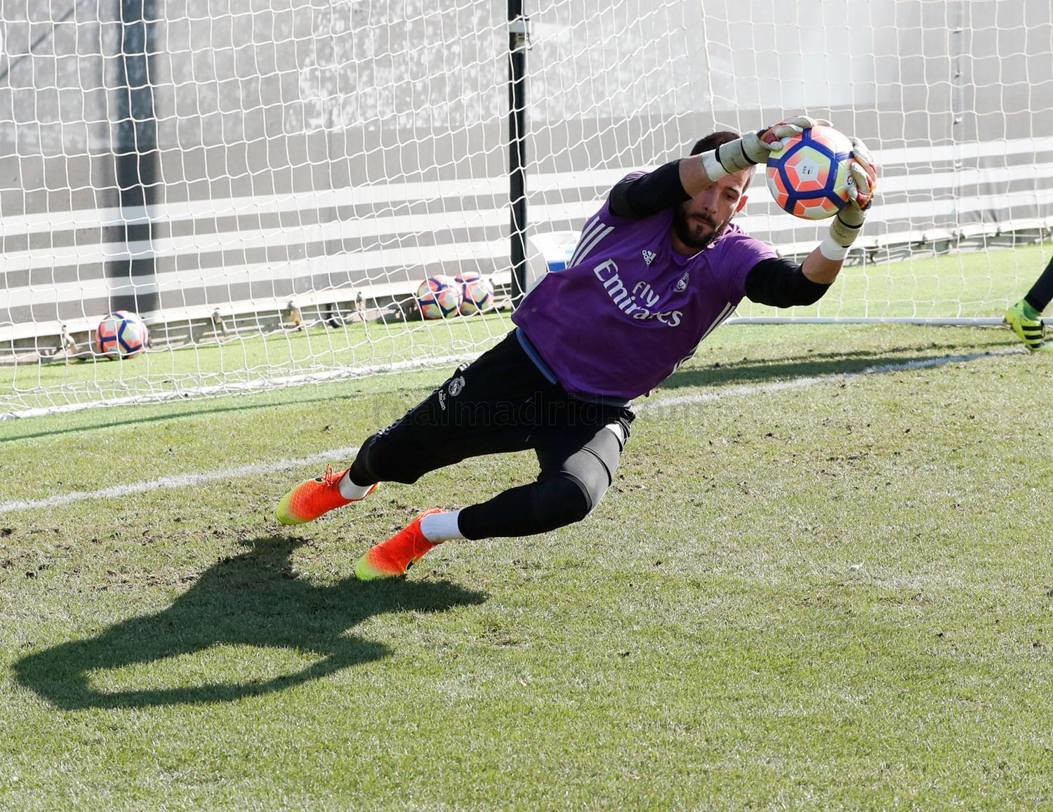 Real Madrid - Entrenamiento del Real Madrid - 01-09-2016