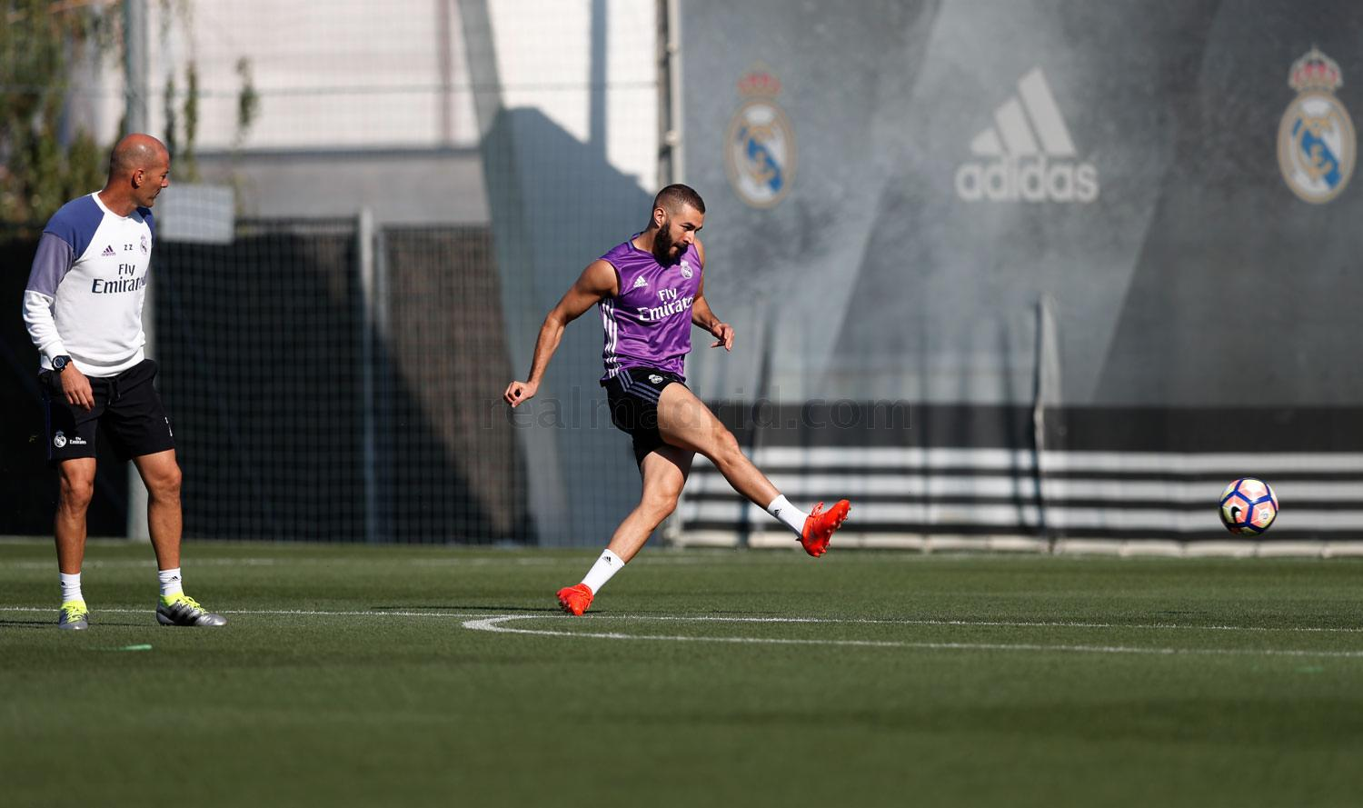 Real Madrid - Entrenamiento del Real Madrid - 02-09-2016