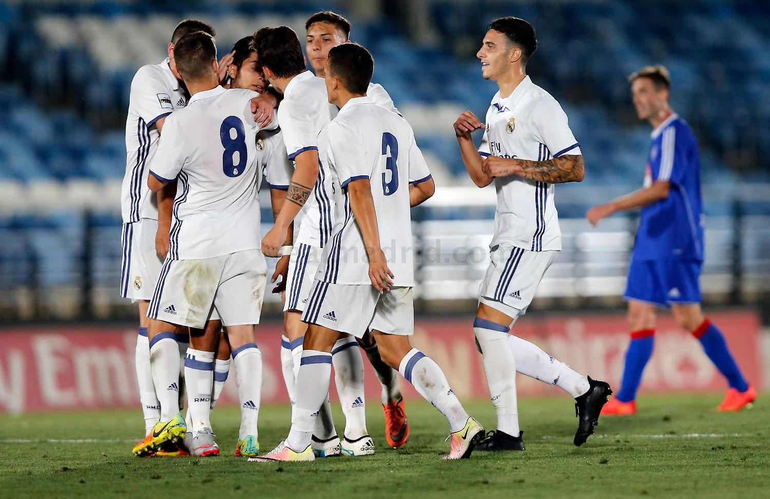 Real Madrid - Real Madrid Castilla - Amorebieta - 03-09-2016