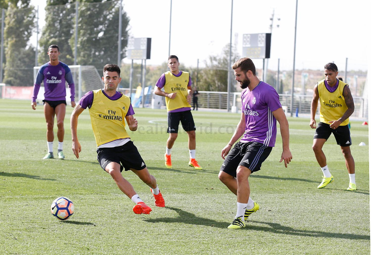Real Madrid - Entrenamiento del Real Madrid - 06-09-2016