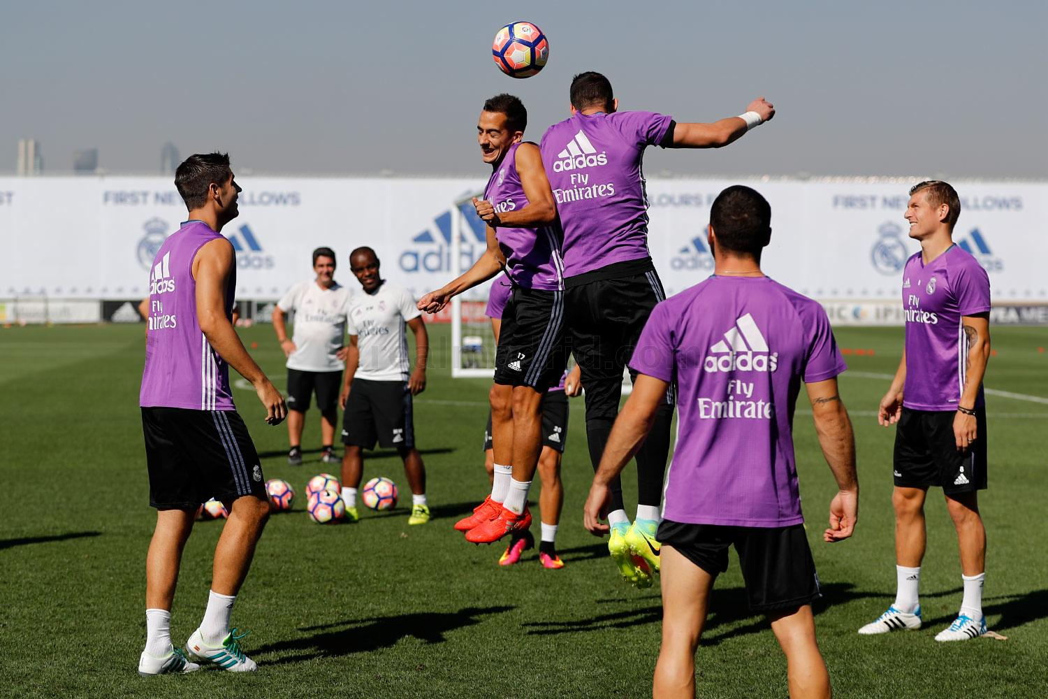 Real Madrid - Entrenamiento del Real Madrid - 09-09-2016