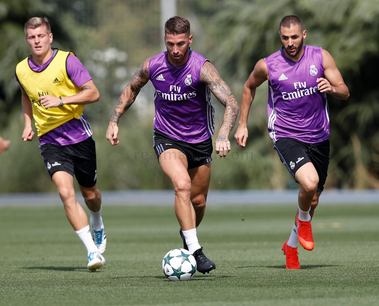 Real Madrid - Entrenamiento del Real Madrid - 12-09-2016