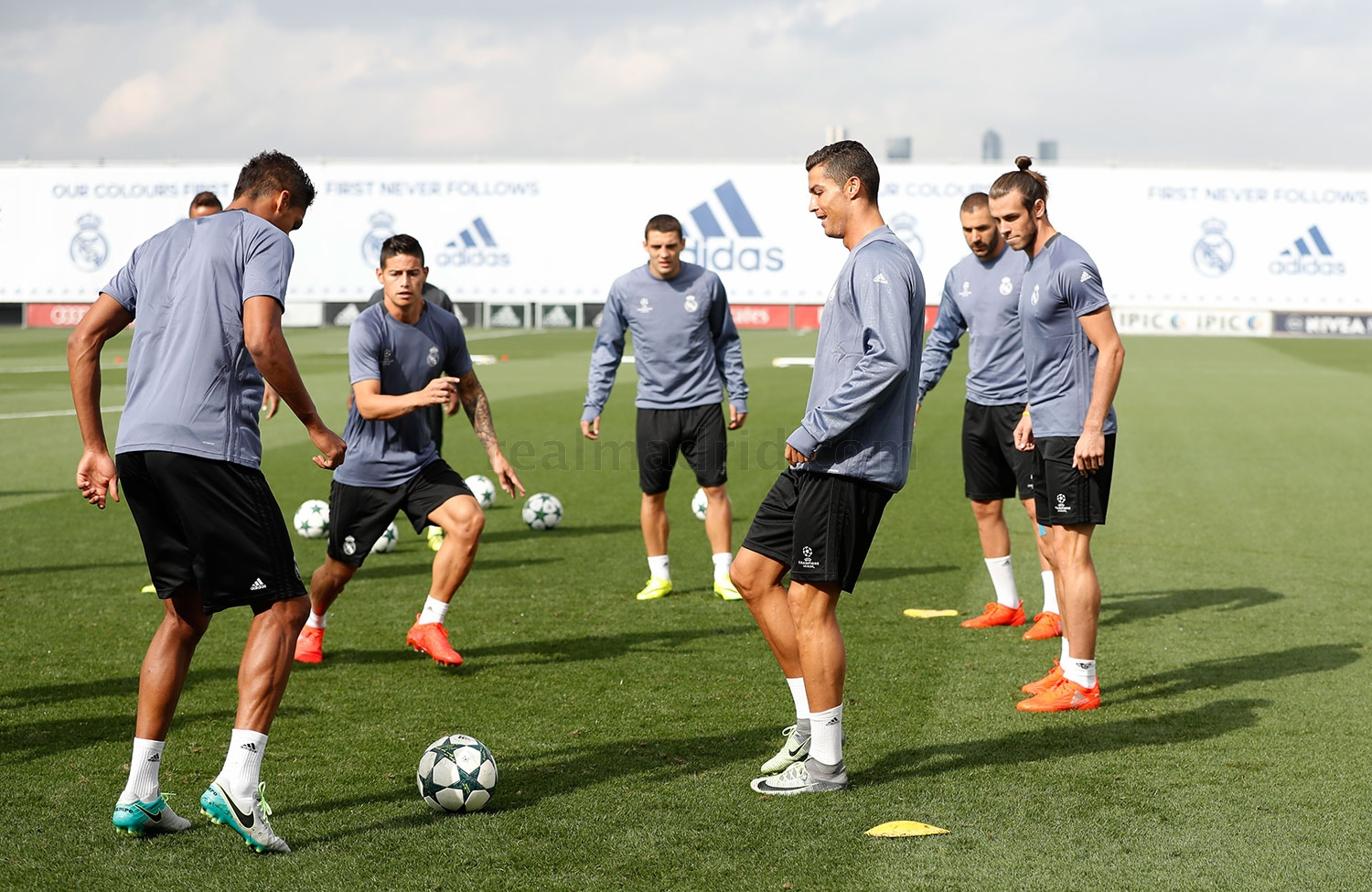 Real Madrid - Entrenamiento del Real Madrid - 13-09-2016