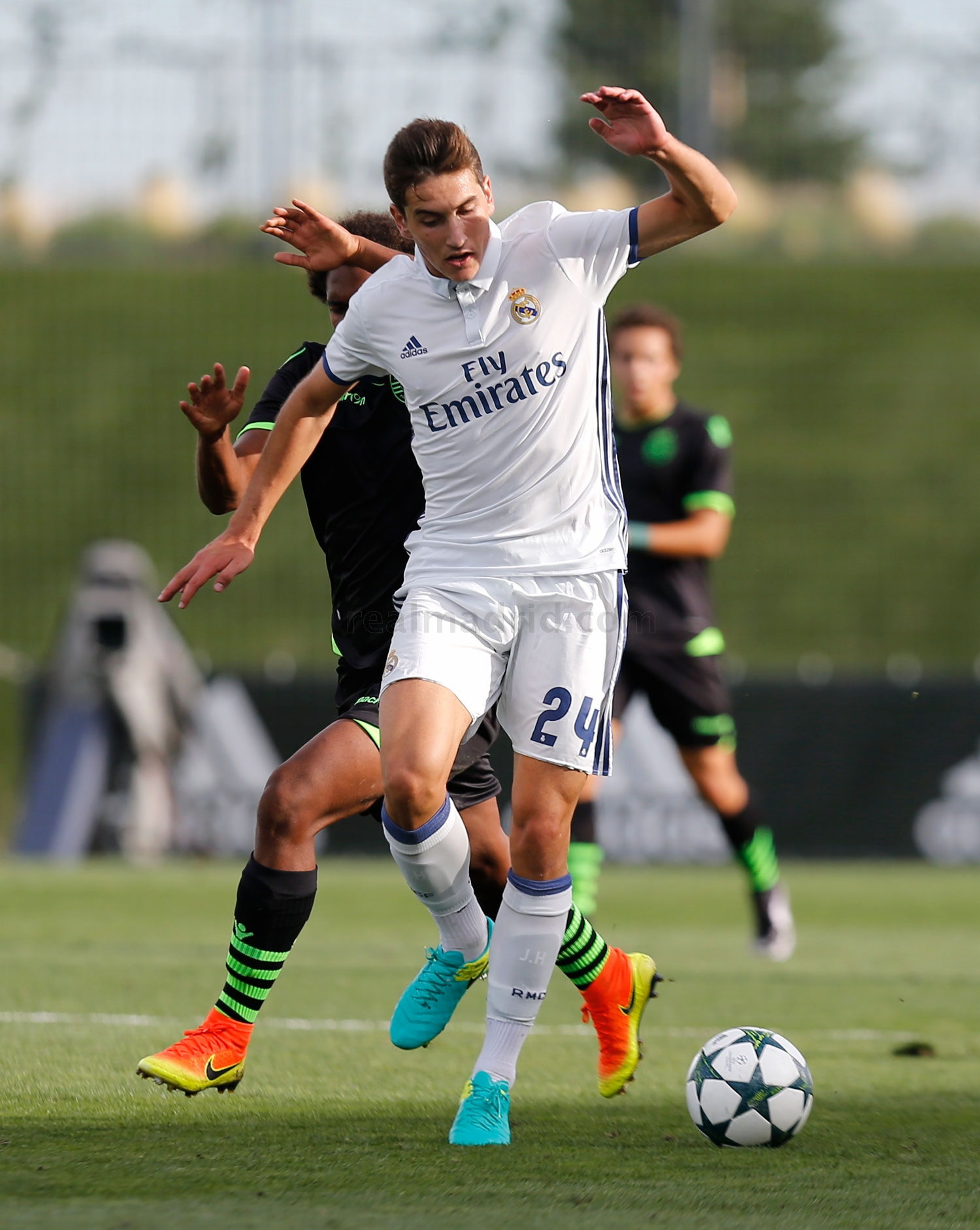 Real Madrid - Juvenil A - Sporting de Portugal - 14-09-2016