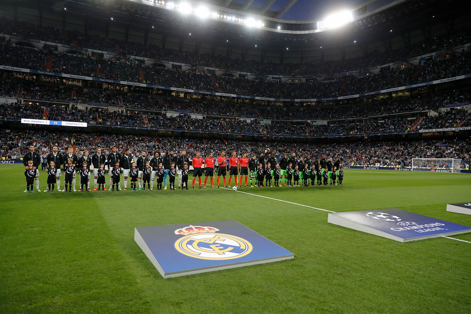 Real Madrid - Real Madrid - Sporting de Portugal - 14-09-2016
