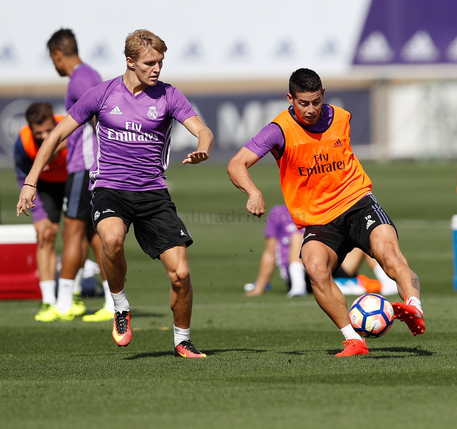 Real Madrid - Entrenamiento del Real Madrid - 16-09-2016