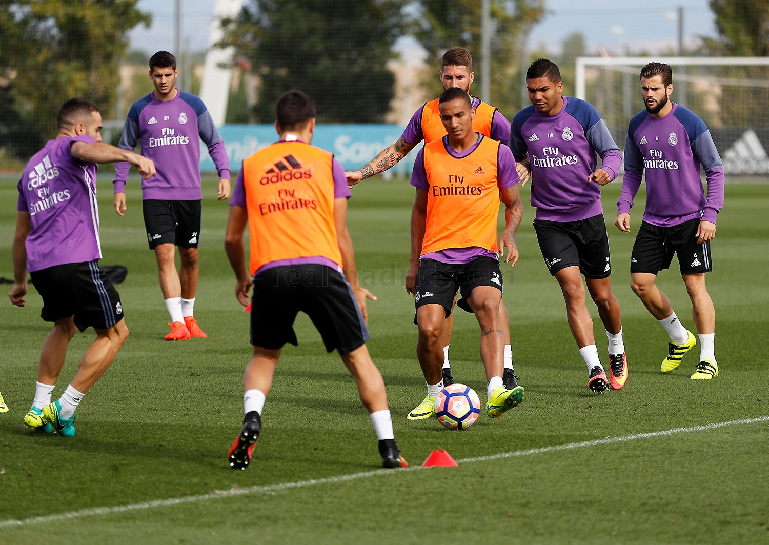 Real Madrid - Entrenamiento del Real Madrid - 17-09-2016
