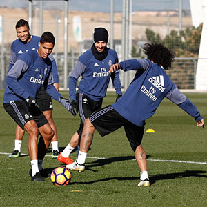 Real Madrid - Entrenamiento del Real Madrid - 14-01-2017