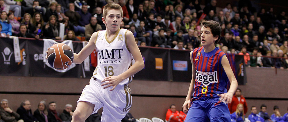 937141638 Doncic turned out for the Real Madrid Infantiles team in the 2012 13  campaign